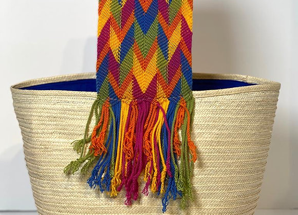 Wayuu Basket Canaflecha Big Handle