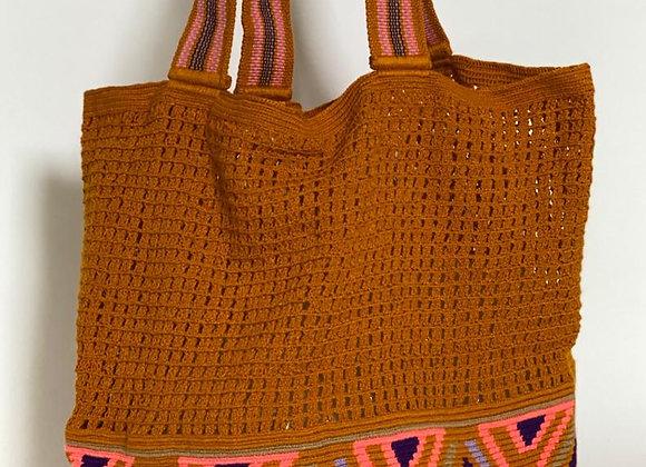 Wayuu Beach Bag-Net Premium 1 Thread L