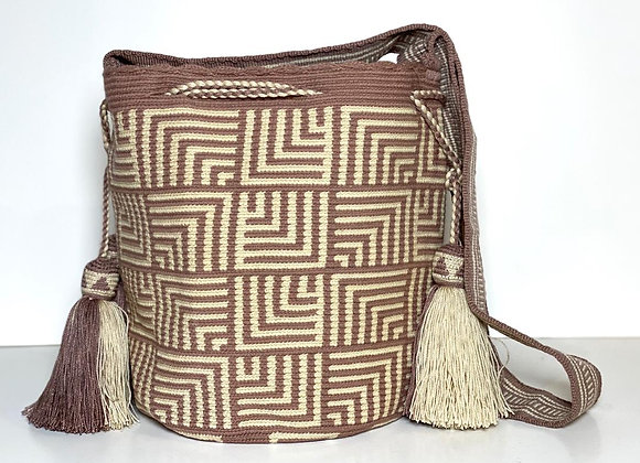 Wayuu Design Double Tassel L