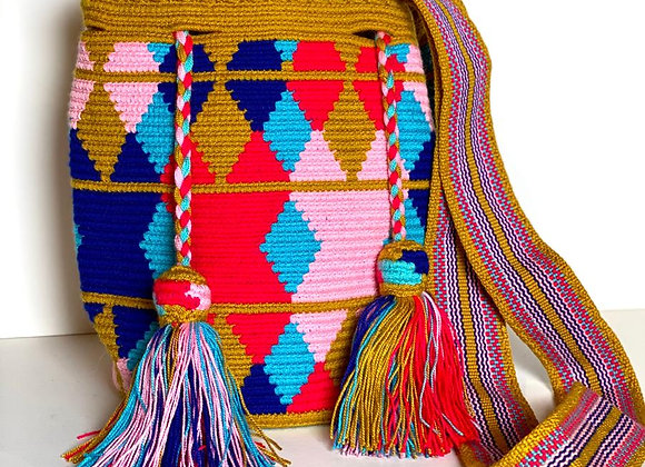 Wayuu Bag Design Medium size