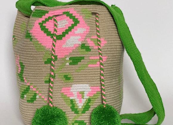 Wayuu Bag Pompom Design