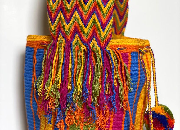 Wayuu Bag Big Handle Design
