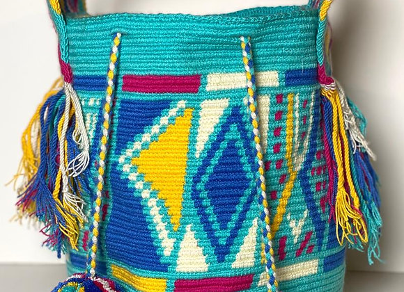 Wayuu Bag Big Handle Design