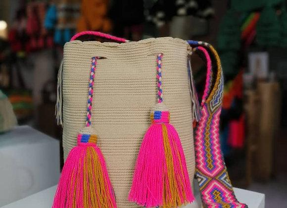 Wayuu Bag Unicolor Macrame