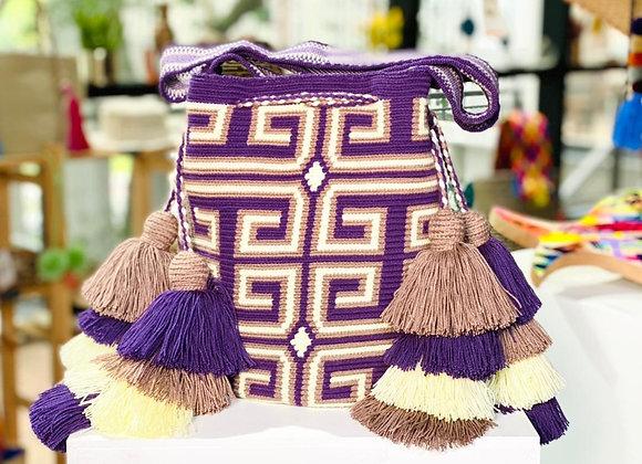 Wayuu Design Double Tassel L