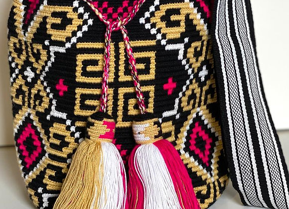 Wayuu Bag One Tassel Design