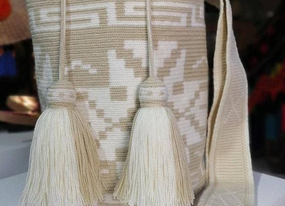 Wayuu Bag One Tassel Design