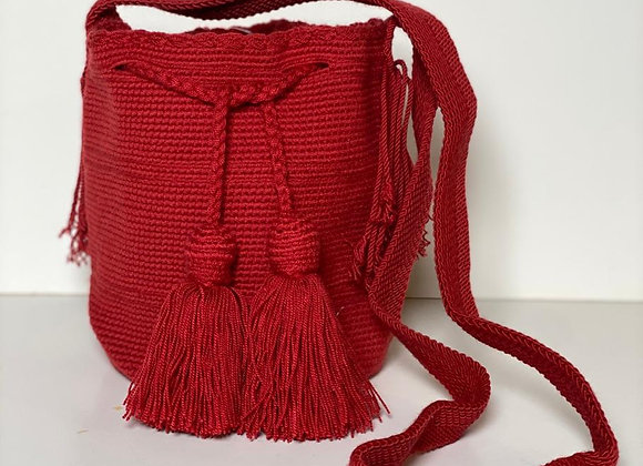 Wayuu Bag Unicolor Medium Size