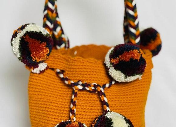 Wayuu Bag Unicolor Twist Small