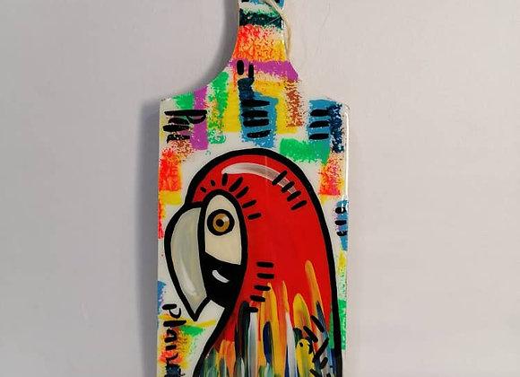 Rectangular Cutting Board S - Parrot