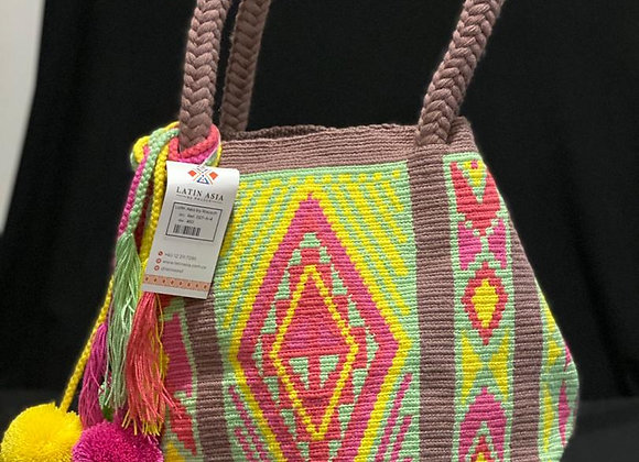 Wayuu Bag Twist Design Tassels