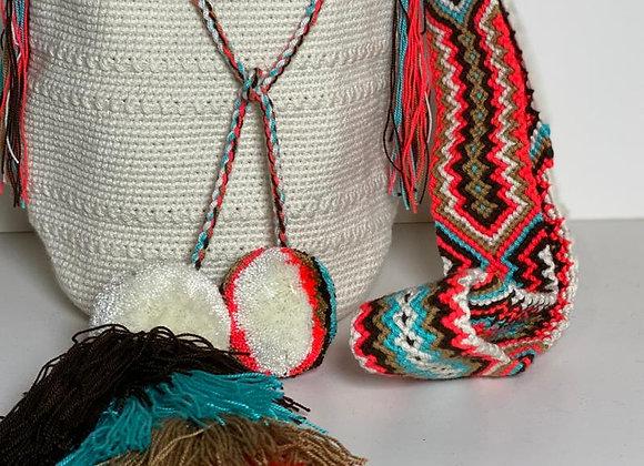 Wayuu Bag Design & Tassels M Size