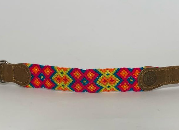 Wayuu Dog Collar S (26-34 cm) Leather & Buckle