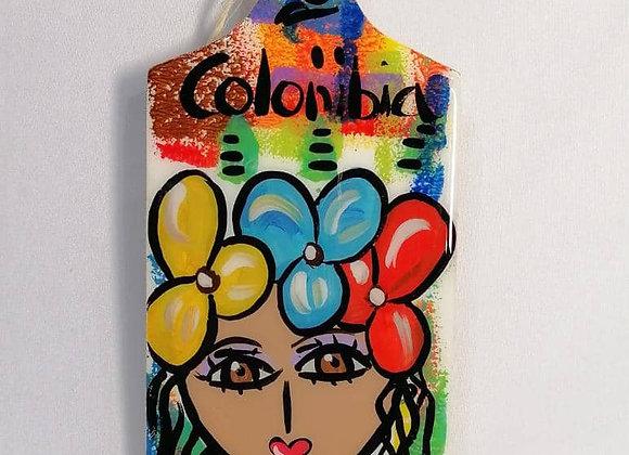 Rectangular Cutting Board S - Colombian Child