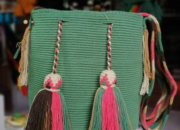 Wayuu Bag Unicolor Macram