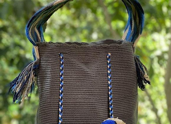 Wayuu Bag Big Handle Unicolor