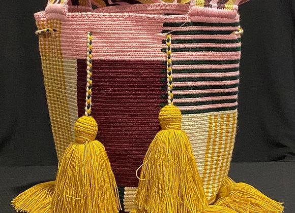 Wayuu Bag Extra Tassels Julia Style