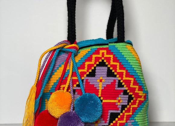 Wayuu Bag Twist Design Tassels