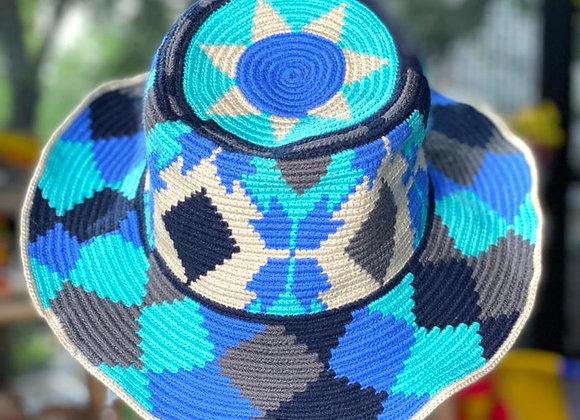 Ref. 135 Sombrero Tejido Wayuu
