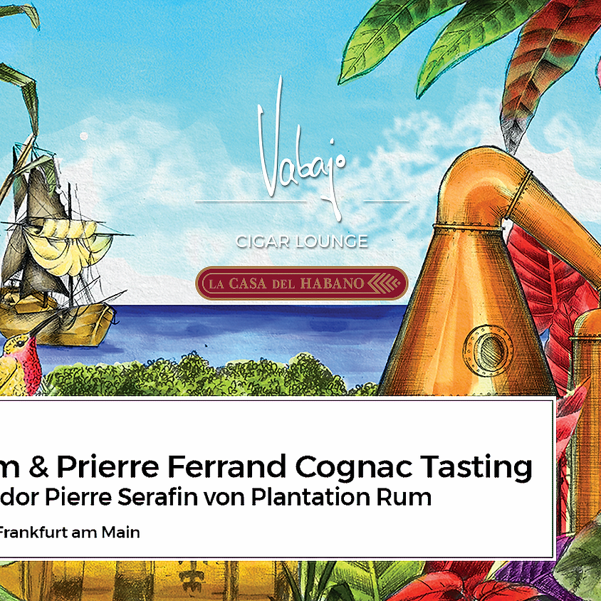 Plantation Rum & Pierre Ferrand Cognac Tasting