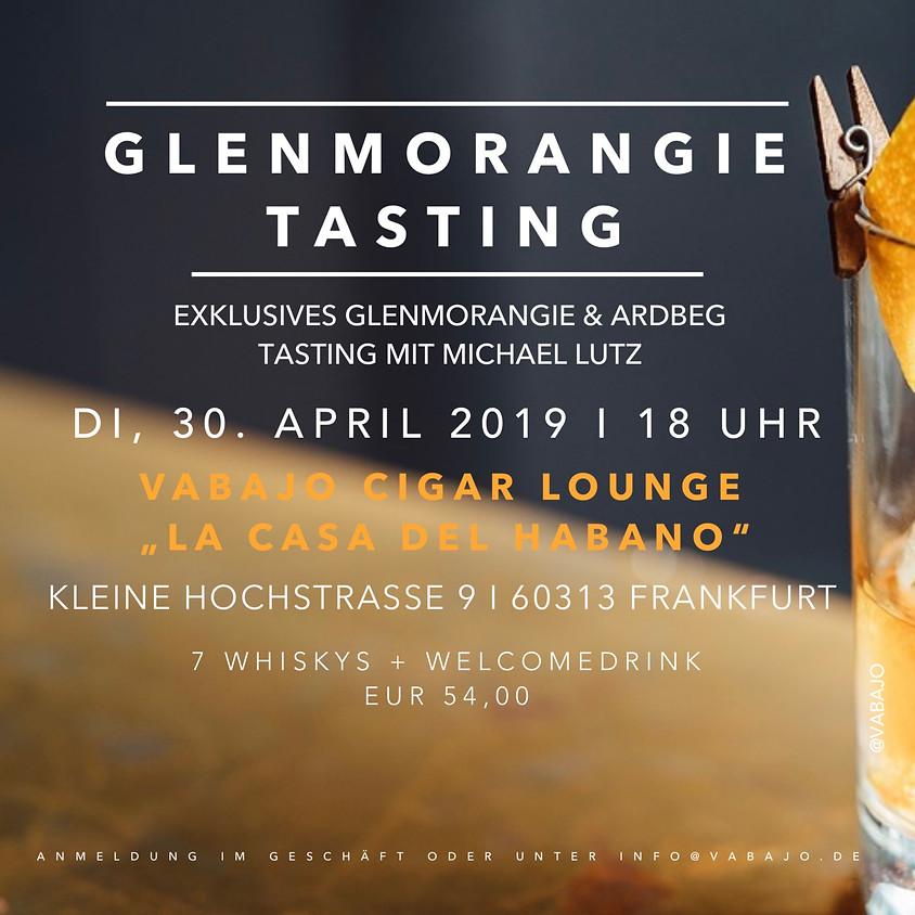 Glenmorangie Tasting mit Herrn Lutz