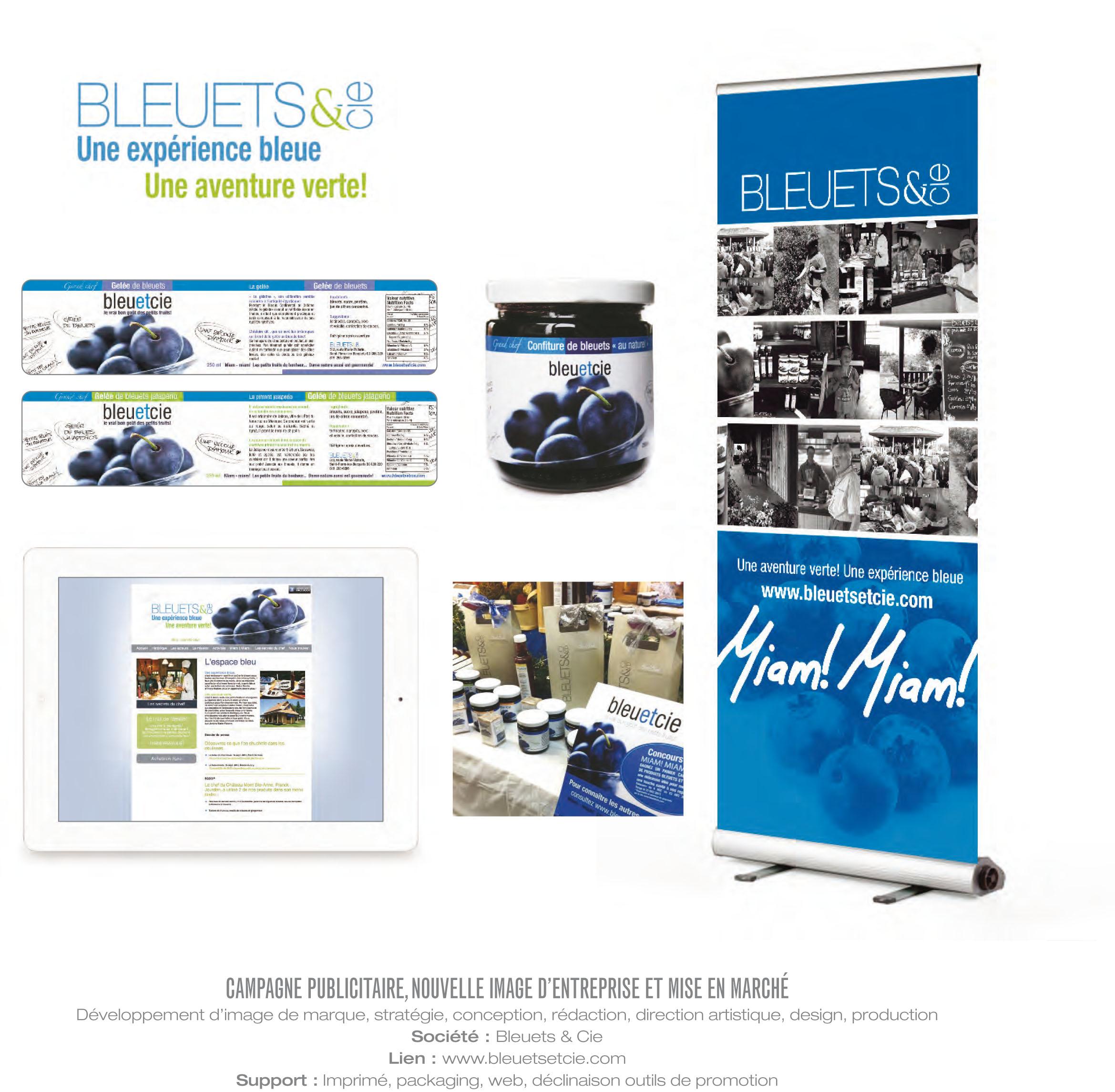 Portfolio Tapage bleuets