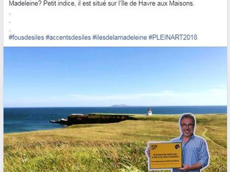 NOUVELLE TAPAGEUSE / Saviez-vous que notre curieux @Christian Bégin visite aussi les Iles de la Made