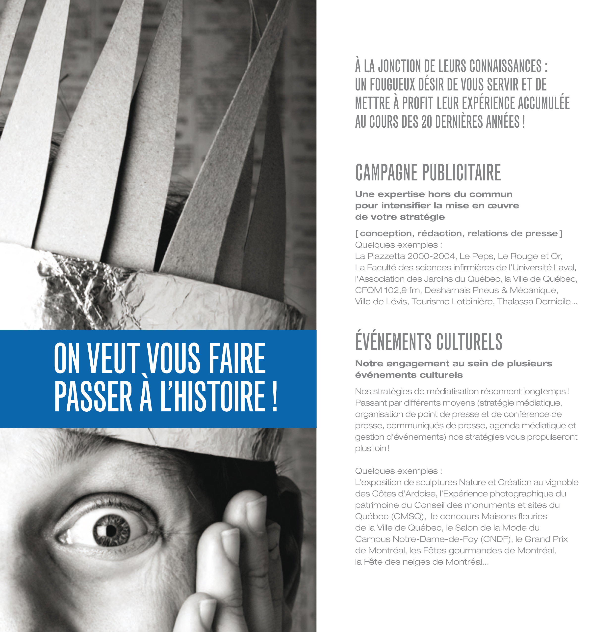 TAPAGE CREATION PASSER HISTOIRE