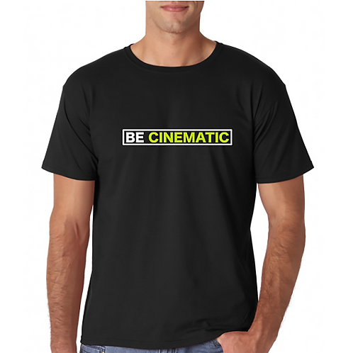 BE CINEMATIC SOFT STYLE T-SHIRT