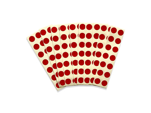 Extra Red Dot Stickers