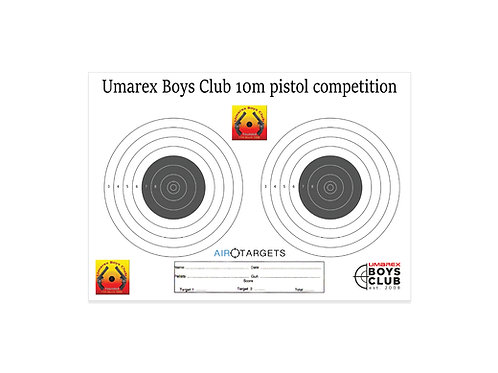 UBC 10m Pistol 2 Targets