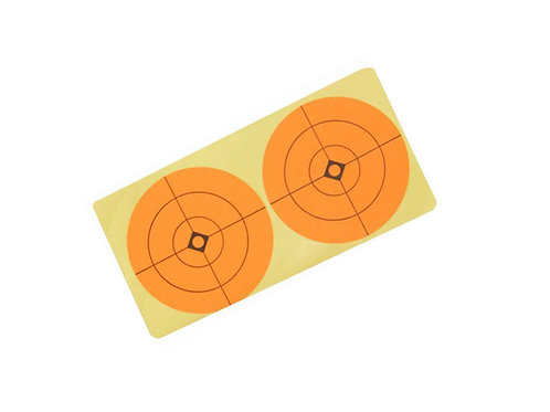 """3"""" Target Stickers - 10 Sheets"""