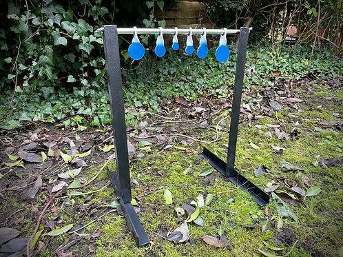 Air Targets Garden Spinners 6 Discs Floor Standing