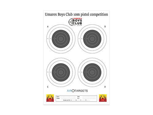 UBC 10m Pistol 4 Targets