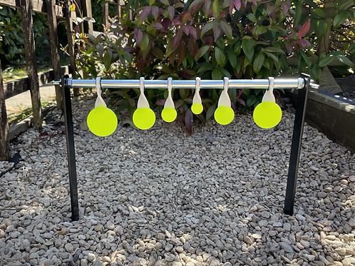 Gr8fun Garden Spinners 6 Discs with Spike Stand