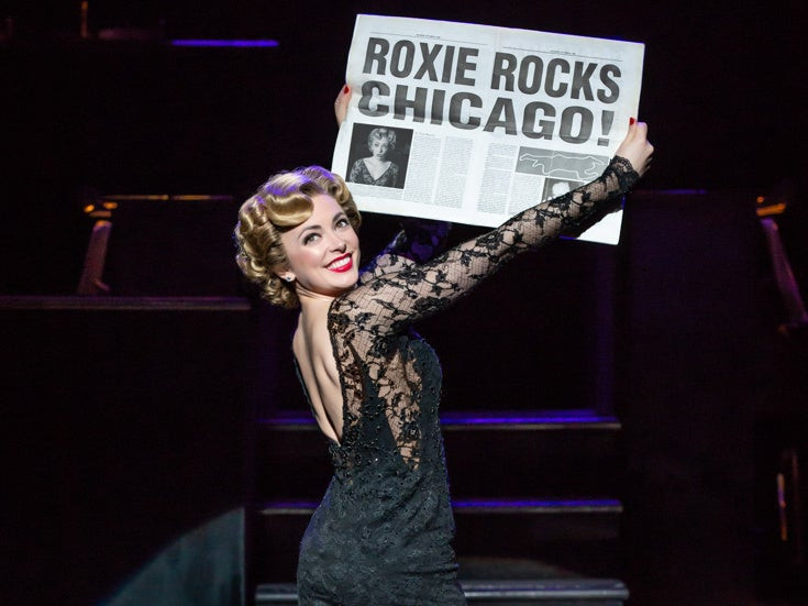 The word on everybody's lips is gonna be Roxie