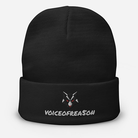 Voice of Rea5on Embroidered Beanie
