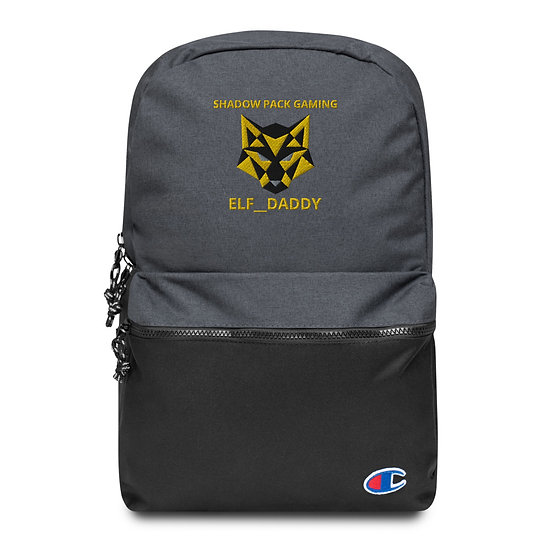 ELF__DADDY SPG Embroidered Champion Backpack