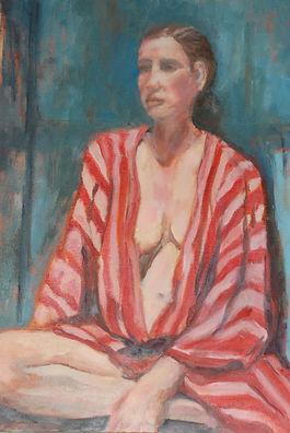 Nude, female, cloth