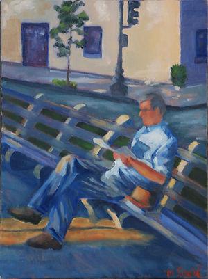 DC, figure, reading