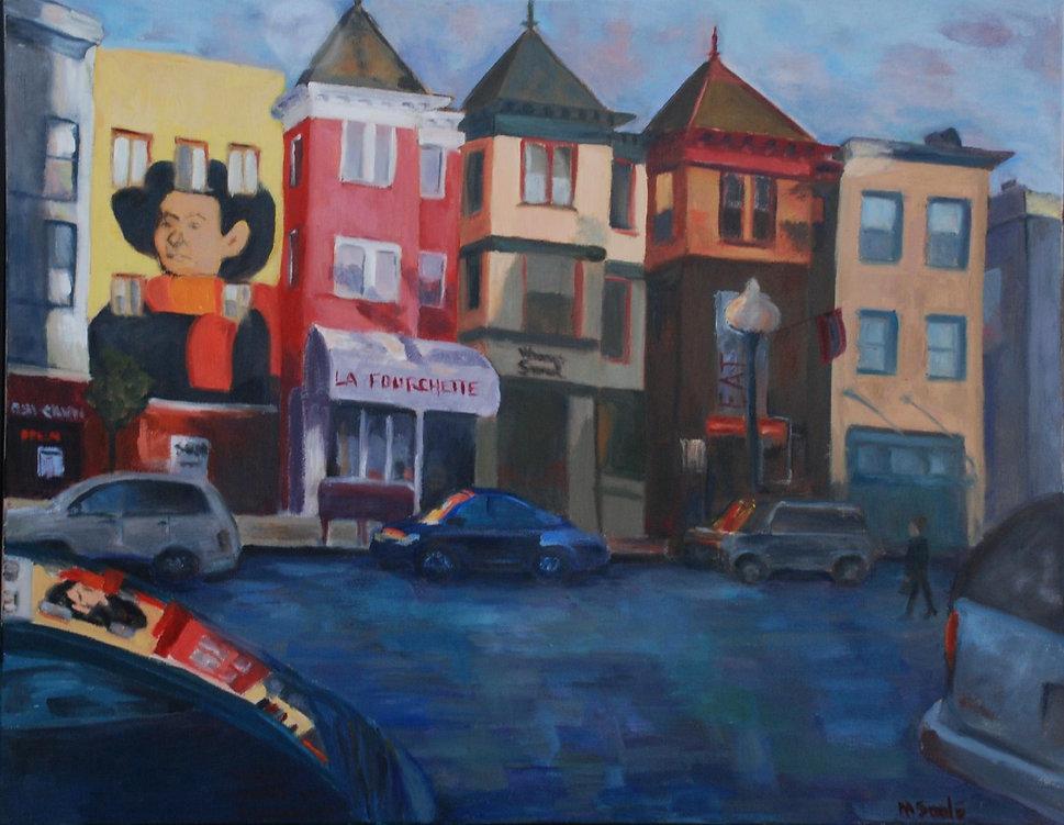 city, cafes, bars, cars, DC