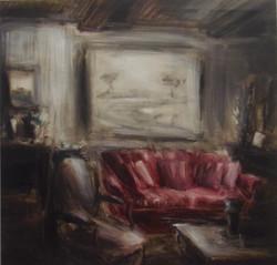 Interno con poltrona, 2007