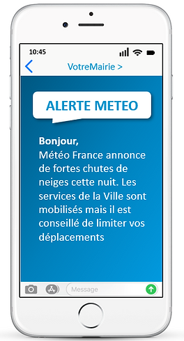 CAMPAGNE SMS MAIRIE