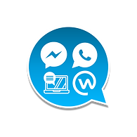 Chatbot intelligent whatsapp, messenger, web