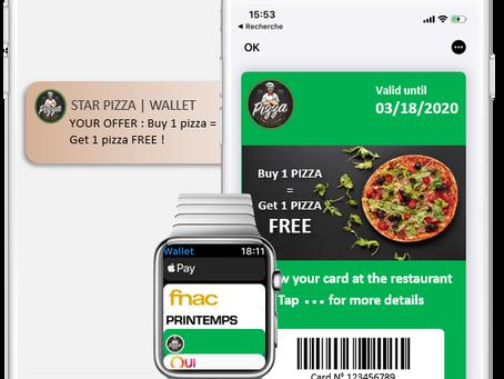 Mobile Wallet : Une présence durable dans le mobile de vos clients !