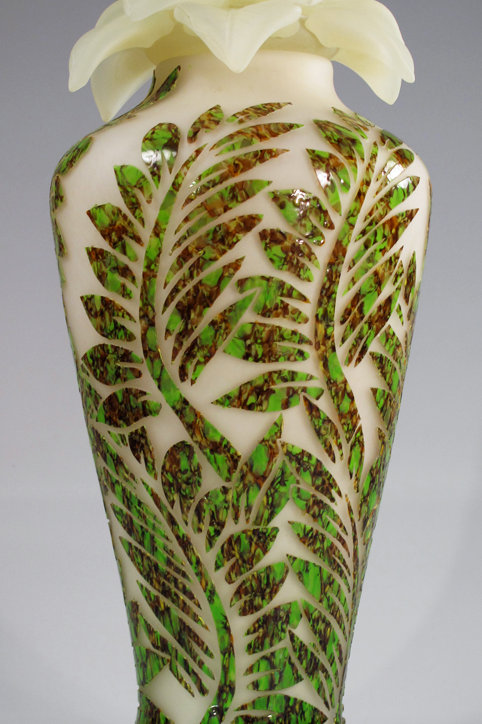 Floral Urn White