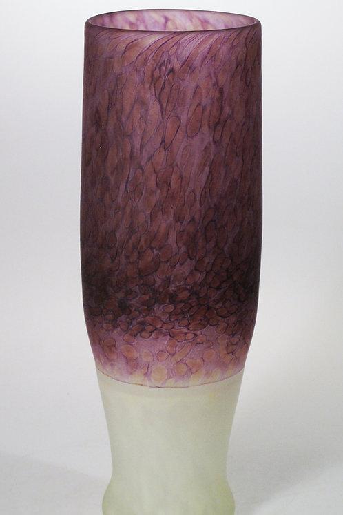 BVP Batik Vase Purple