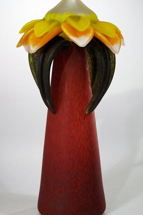 Blossom Vase Red