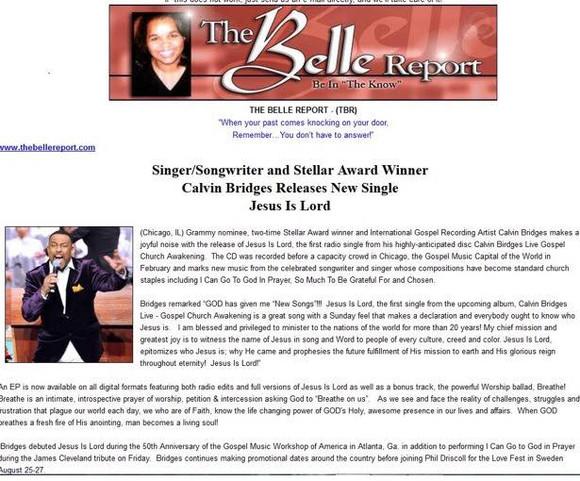 Belle Report (Calvin Bridges)