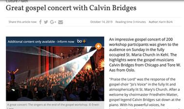 Kehl Press Release (Calvin Bridges)